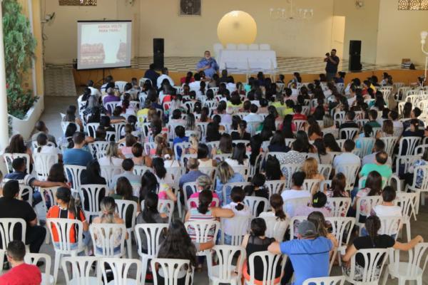 Prefeitura Promove Palestra Motivacional Para Melhorar O